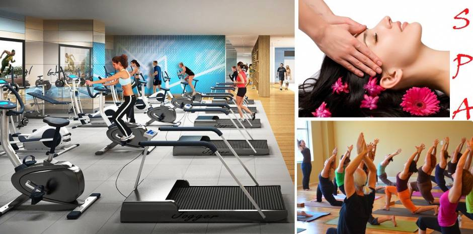 Gym, spa Vinhomes Smart City Nguyễn Trãi