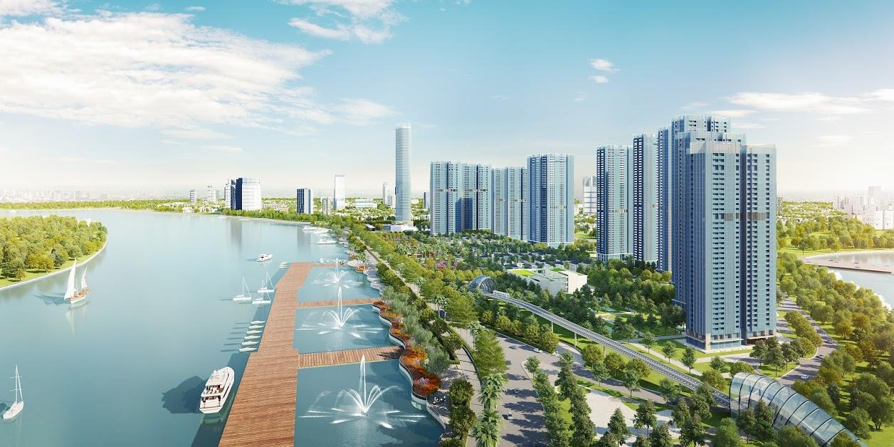Chung cư xanh Vinhomes Smart City Nguyễn Trãi