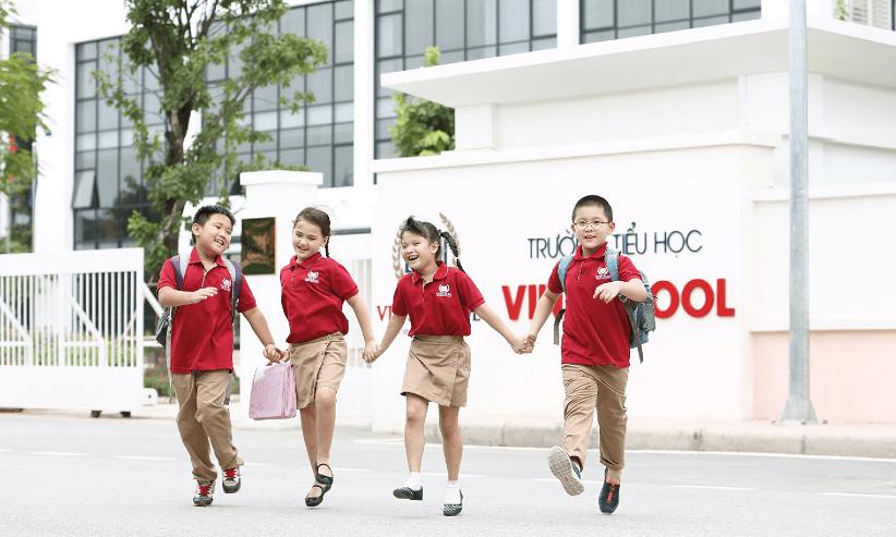 Hệ thống trường học liên cấp Vinschool tại đô thị Vinhomes
