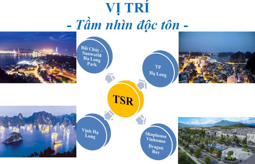 Vị trí Dự án căn hộ chung cư doji Hạ Long Quảng Ninh