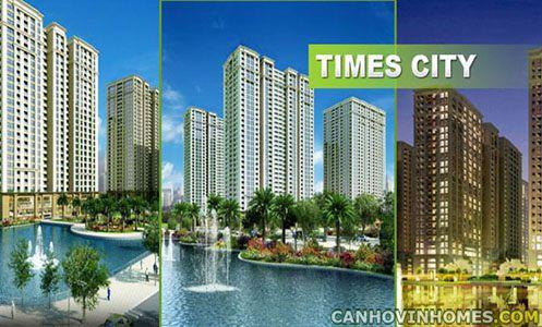 Bảng giá chung cư Times city, Giá chung cư times city