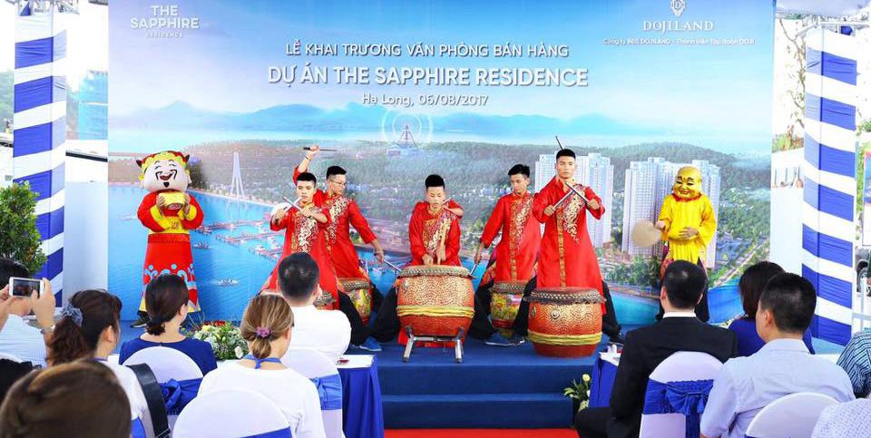 Lễ khai trương văn phòng dự án The Sapphire Residence Dojiland