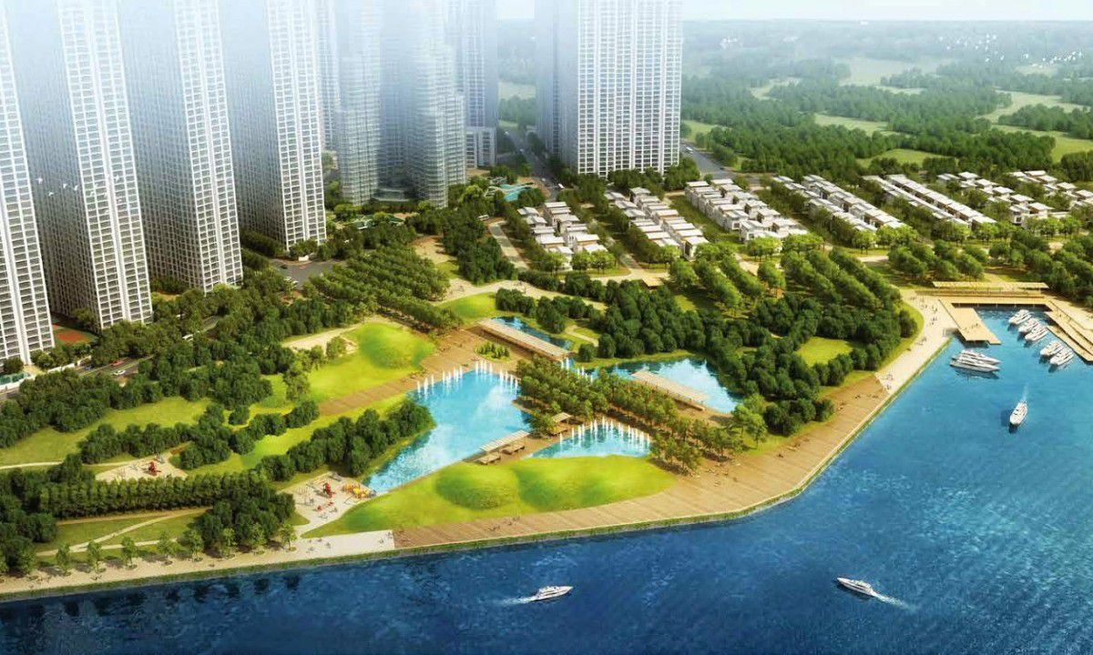 Mở bán Vinhomes Paradise Mễ Trì, biệt thự và căn hộ chung cư vinhomes paradise Mễ Trì