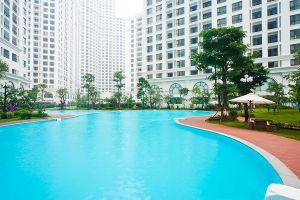 Tiện ích bể bơi bốn mùa tại Vinhomes Smart City